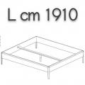 SWEETDREAMS letto SLE18 - L 1910 P 2110 H 440