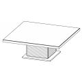 I.C.S. - tavolo quadrato