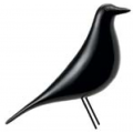 Eames House Bird laccato nero - 175,00€