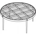 D.555.1 - Tavolino Ø 800 H 370 - 1.933,00€