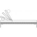 CHO202L - Chaise longue L 1000 H 720 P 2020