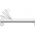 CHO202LA - Chaise longue con ruote L 1000 H 720 P 2020