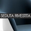 Sedia con rivestimento in tessuto - non impilabile - 415,00€