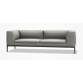 9M226_2 Divano L 223 P 89 H 71,5 (cm) - cuscino sedile doppio