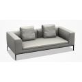 M206 Divano L 203 P 104 H 71,5 (cm) - cuscino sedile unico