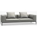 M256 Divano L 253 P 104 H 71,5 (cm) - cuscino sedile doppio