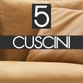n°5 Cuscini schienale 60x55 - B55C PELLE - 3.390,00€