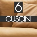 n°6 Cuscini schienale 60x55 - B55C PELLE - 4.068,00€